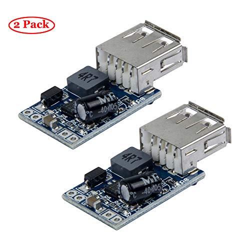 TeOhk 2Pcs DC-DC Módulo Reductor 7-28V Módulo Reductor