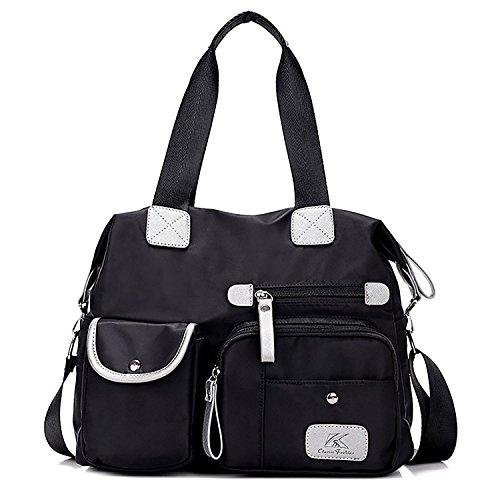 HT Women Shoulder Bag, Borsa a spalla donna Black