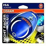 Osram NIGHT RACER Plus H4, Motorradscheinwerfer, 64193NRP-01B, Einzelblister