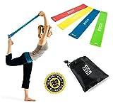 Premium Latex Fitnessbänder - 4er Set Fitnessbänder