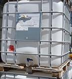 1000 Liter IBC Tank (2) – Holzpalette & Gitterbox gebraucht # Tank gereinigt / wie neu