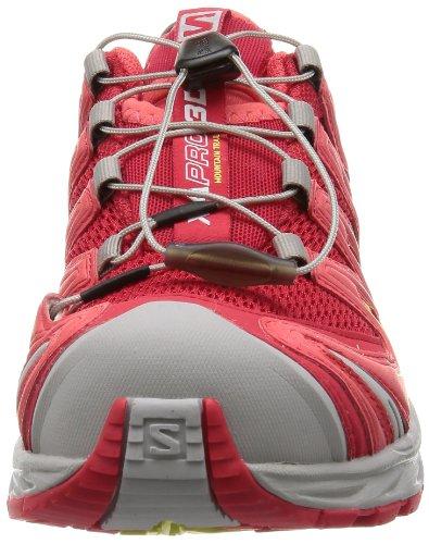 Salomon XA PRO 3D Damen Traillaufschuhe Rot (Rot / weiß)