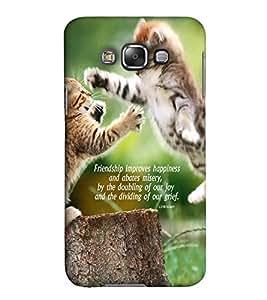 EagleHawk Designer 3D Printed Back Cover for Samsung Galaxy E5 - D842 :: Perfect Fit Designer Hard Case
