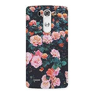 Neo World Nursery Flowers Back Case Cover for LG G3 Beat