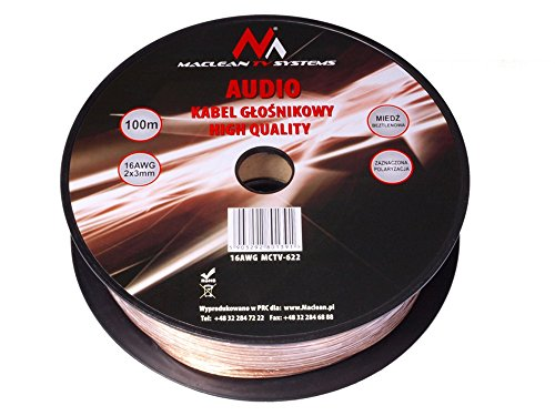 maclean-mctv-622-100m-cable-audio-ofc-libre-de-oxigeno-16awg-profesional-para-altavoces-1-metro