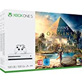 Xbox One S 500GB Console - Assassin's Creed Origins Bundle - Xbox One [Edizione: Regno Unito]