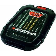 Black & Decker A7186-XJ - Pack de 16 piezas para taladrar y atornillar (titanio)