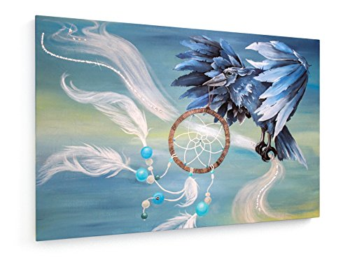 weewado Anja Kraus - Atrapasueños - 75x50 cm - Impresion en Lienzo - Muro de Arte - Canvas, Cuadro, Poster - Artista
