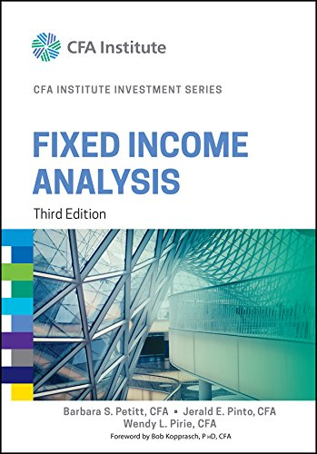 Fixed Income Analysis (CFA Institute Investment Series) por Barbara S. Petitt