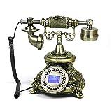 DIANHUA Retro- kontinentale klassische Nostalgie-traditionelle Art und Weise kreatives altes klassisches Design-altes Telefon 25 * 26 * 20cm