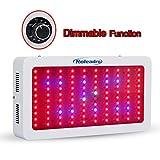 Roleadro 300W Dimmable Lampade per Piante Led Luci per Coltivazione Indoor con UV IR Luci per Fioritura Crescita Serra