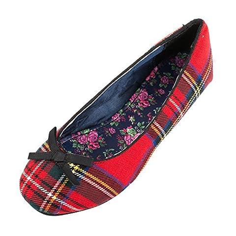 Heritage of Scotland Women's Flat Ballerina