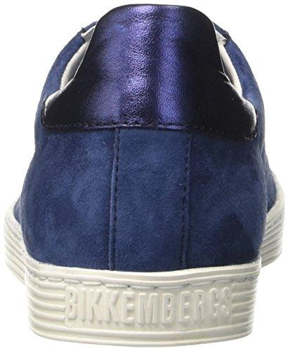 Bikkembergs Damen Words 888 Niedrige Sneaker Blau