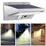 Loveusexy LED Solar Light 21Led extérieur lampe infrarouge PIR Motion Sensor lampe solaire pour économiser de l'énergie lumière jardin décoration Warm White