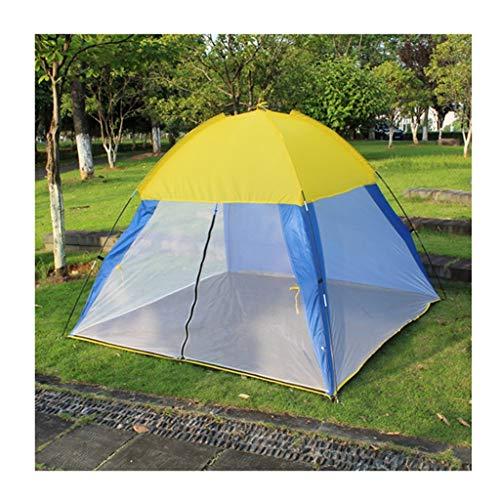 DWJ-Z Familien-Moskitonetz, Strandzelt Camping Outdoor Freizeit Markise 3-4 Personen 200 × 200 × 145cm