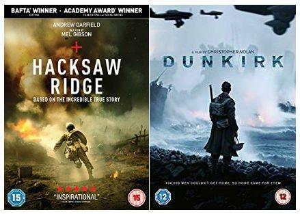 World War True Story Collection - Hacksaw Ridge / Dunkirk
