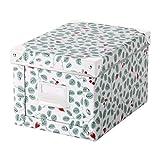 Ikea fjalla Aufbewahrungsbox mit Deckel Weiß Grün 103.991.98Größe 7X 10¼ X6