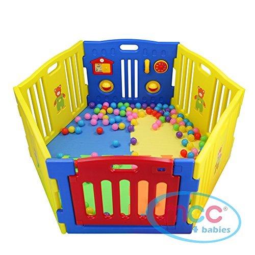MCC Plastic Baby Playpen with Ac...