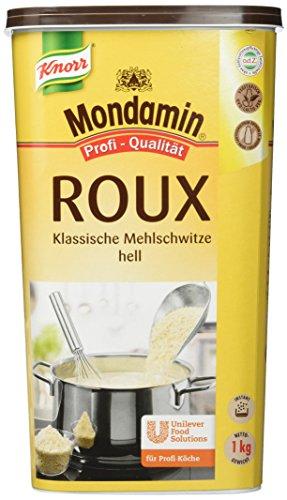 Mondamin Roux klassische Mehlschwitze hell (Granulat für sofortige Bindung) 1er Pack (1x 1kg)