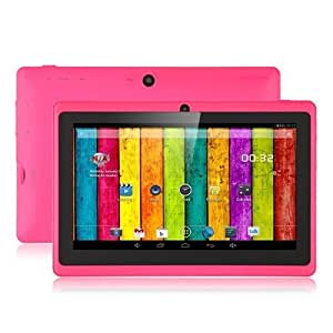 "Aome Tech Pink 7"" inch Touch Screen Dual core Allwinner A23 1.5GHz CPU Android 4.2.2 Tablet PC Dual camera 4GB HDD 512MB WiFi"