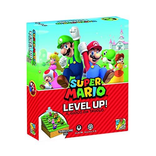 Dv Giochi dvg9340-Super Mario Level Up el Mundo Juegos de Mesa