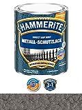 250 ml Hammerite Direkt auf Rost Metall-Schutzlack Dunkelgrau, Hammerschlag
