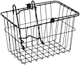 Wald 133 Front Bicycle Basket (14.5 x 9.5 x 9, Black) by Wald