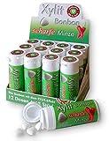 Xylit Bonbon Scharfe Minze, Inhalt je Packung 45 Stk, 12 Packungen