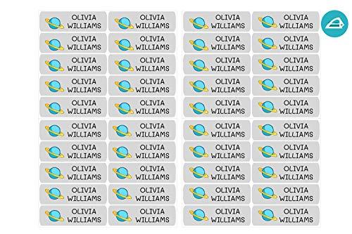 50 Etiquetas Termoadhesivas Personalizadas