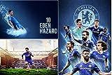 #7: Eden Hazard Chelsea Poster Bundle