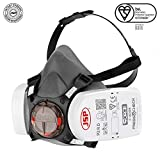 Force™8 Half Mask Respirator Complete with PressToCheck™ P3 Filters