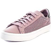 adidas Zapatillas de Piel Para Mujer Morado Violeta