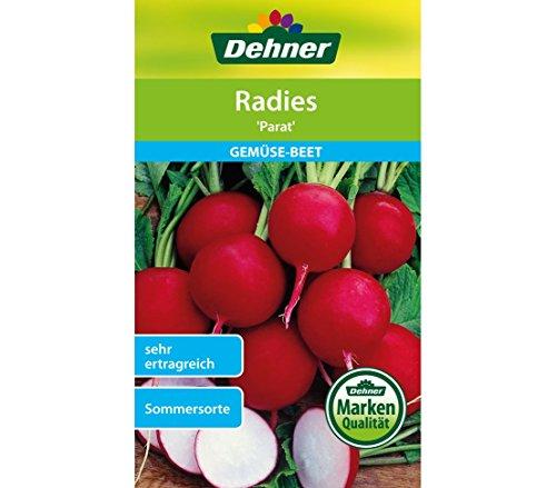 "Dehner Gemüse-Saatgut, Radies, ""Parat"", 5er Pack (5 x 10 g)"