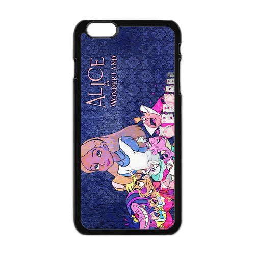 iPhone 6 Plus Coque, Screen Protector pour iPhone 6 Plus Coque, Alice in Wonderland Designs iPhone 6 Plus, iPhone 6 Plus 5.5 Coque de protection Case