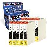 10x Druckerpatrone Kompatibel für Epson T0711 XL Schwarz black bk für Epson Stylus B40W BX300F BX310FN BX3450F BX600FW BX610FW, D78 D92 D120 DX4000 DX405 DX4050 DX4400 DX4450 DX5000 DX5050 DX5500 DX6000 DX6050 DX7000F DX7400 DX7450 DX8000 DX8400 DX8450 DX9400F, S20 SX110 SX115 SX200 SX205 SX209 SX210 SX215 SX218 SX400 SX405 SX410 SX415 SX510W SX515W SX600FW SX610FW Drucker