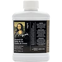 ‏‪Speedball 8-Ounce Mona Lisa Linseed Oil‬‏