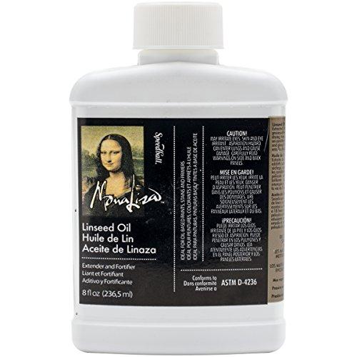 Unbekannt Speedball Art Products Mona Lisa Leinsamen oil-8oz, andere, Mehrfarbig