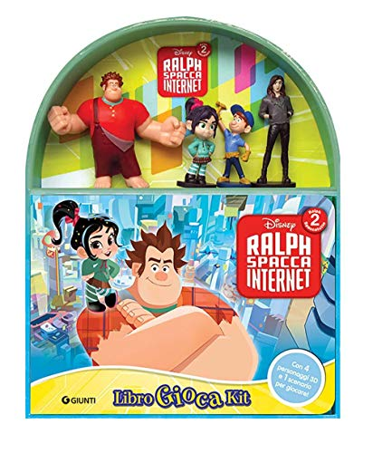Ralph Spacca Internet. Libro gioca kit. Ediz. a colori. Con gadget