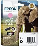 Epson T2436 Tintenpatrone Elefant XL, Singlepack hell magenta