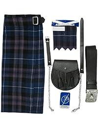 Tartanista - Ensemble kilt - tartan Honour of Scotland - kilt/sporran/épingle/flashes