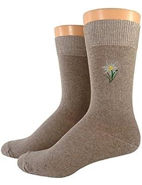 Damen/ Herren Socken bestickt