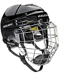 Bauer re de acte 75Combo Noir Casque de Hockey sur glace
