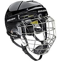 Bauer RE de AKT 75Combo Negro Casco de hockey sobre hielo