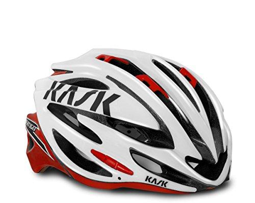 KASK Casco della bici VERTIGO 2.0 Bianco Rosso CM 48-58