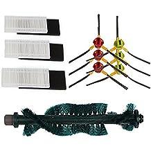 Turbo cepillo & Hepa filtro y lado cepillo para Ecovacs Deebot Deepoo CEN630 cr631 620 630