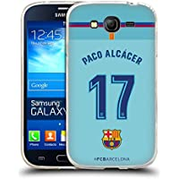 Official FC Barcelona Paco Alcácer 2017/18 Players Away Kit Group 1 Soft Gel Case for Samsung Galaxy Grand Neo
