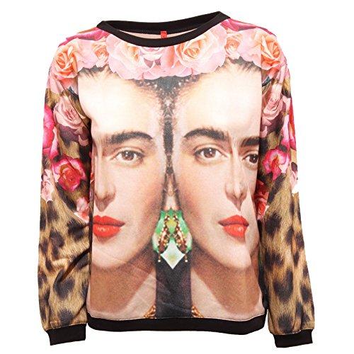 0253R felpa donna IMPERIAL FRIDA/ROSE sweatshirt men [S]