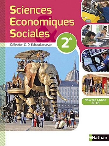 Sciences économiques et sociales 2de par Touffic Okat