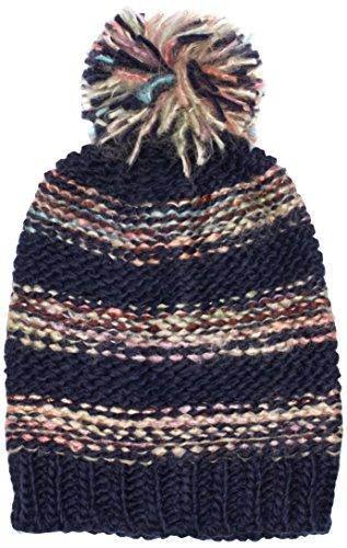 PIECES 17069353-Berretto a maglia Donna    Multicolore (Navy Blazer) Taglia unica
