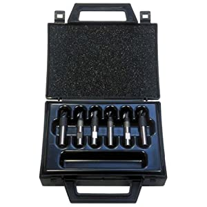 KS Tools 515.1309 Karbid-Schweißpunkt-Bohrer-Satz, 6-tlg., 10mm